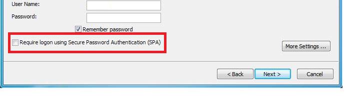 Secure Password Authentication