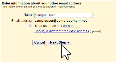 add smtp gmail