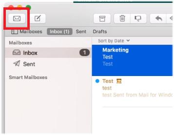 Mac Mail get mail