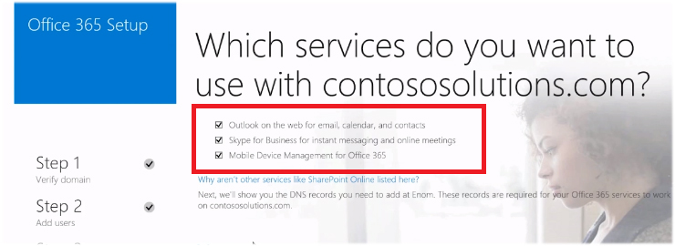 Office 365 DNS setup