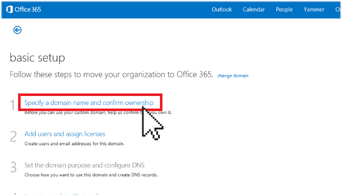 Accessing Domain Emails with Office 365 (Exchange Online