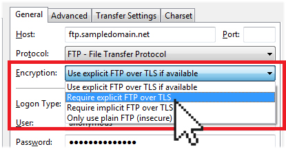 FTP over TLS