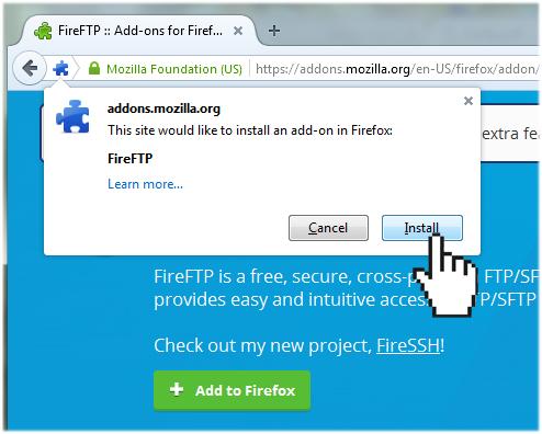 install FireFTP
