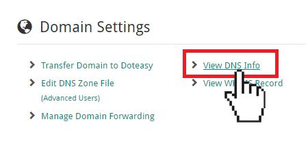 View DNS