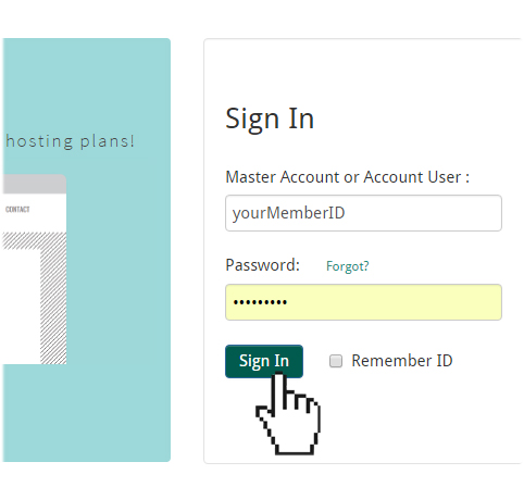 Doteasy Member Zone login