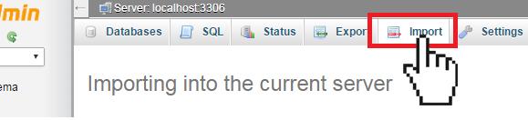import SQL