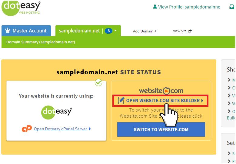 Website.com Site Builder