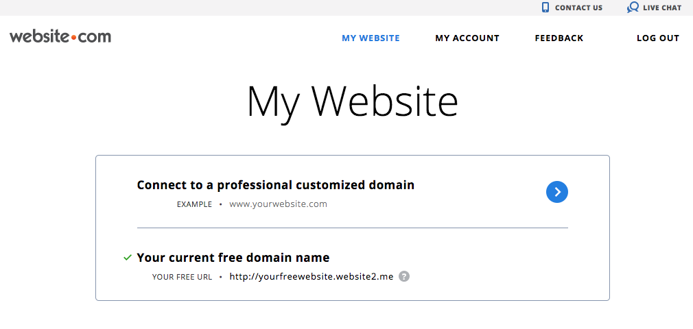 Website.com Member Zone