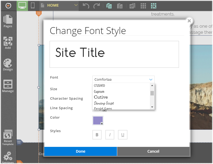 customizing web fonts