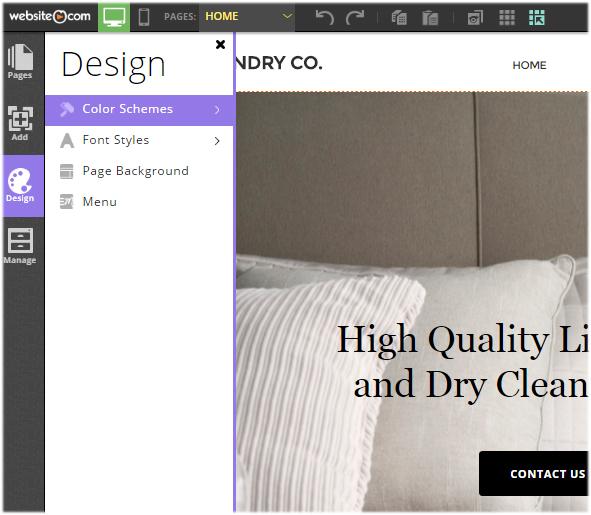 Template customization options
