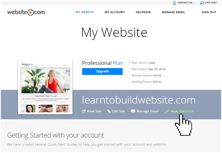 website.com analytics tools